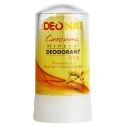 Дезодорант-кристалл EcoDeo стик с Куркумой TM TaiYan, 60 г