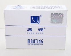 Мыло антибактериальное MANTING от демодекоза