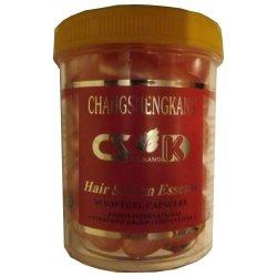 Витамины в капсулах от перхоти (розовые) Сhangshengkang