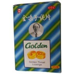 Золотые леденцы от болей в горле «Golden» на травах