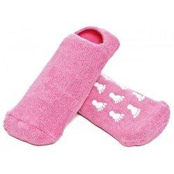 Увлажняющие силиконовые носочки с гелевой пропиткой
